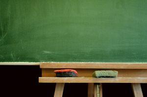 Quadro verde - Sala de aula